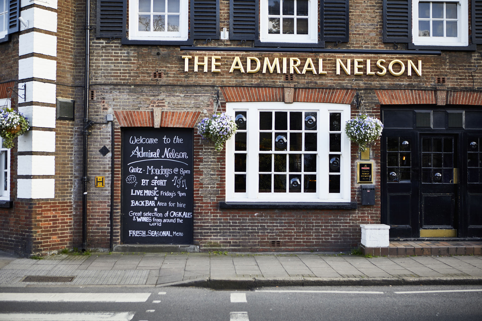 The Admiral Nelson Fullers Pub And Restaurant In Whitton